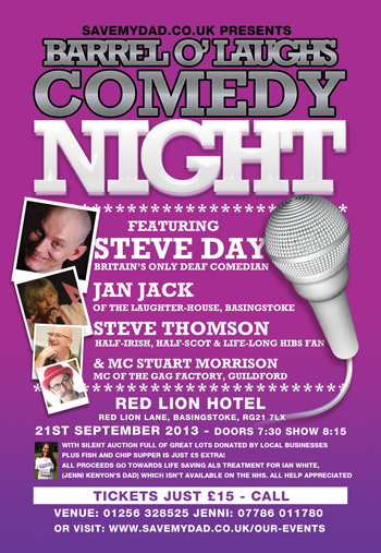 Basingstoke Stand Up Comedy Night